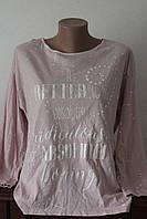 Блуза жіноча коттон напис