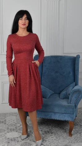 """Нарядное платье """"Вера"""" размер 52, фото 2"""