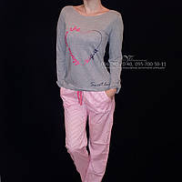 Пижама, комплект для дома. 100% х/б. Lemila 639. Размер S / 42-44, фото 1