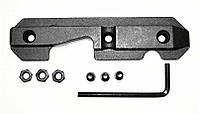 Боковая планка Leapers TL-M47SR кронштейн крепление 11 мм ласточкин хвост для АК Сайга Вепрь калаш