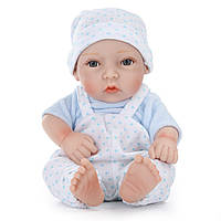 11inch Handmade Reborn Baby Кукла Lifelike Реалистичная новорожденная игрушка для мальчиков Play House Toys