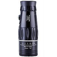 IPRee Навигатор 10x40 Монокуляр телескоп HD оптический зум-объектив высокой четкости Просмотр окуляра