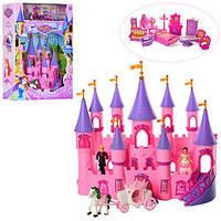 Детский замок SG-2976 принцессы, карета, мебель, фигурки, музыка, свет, кукольный домик, дом для куклы