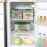 KCASA KC-RC02 Двухуровневый холодильник Холодильник Crisper Большая емкость Стекловая печь Коробка Хранение