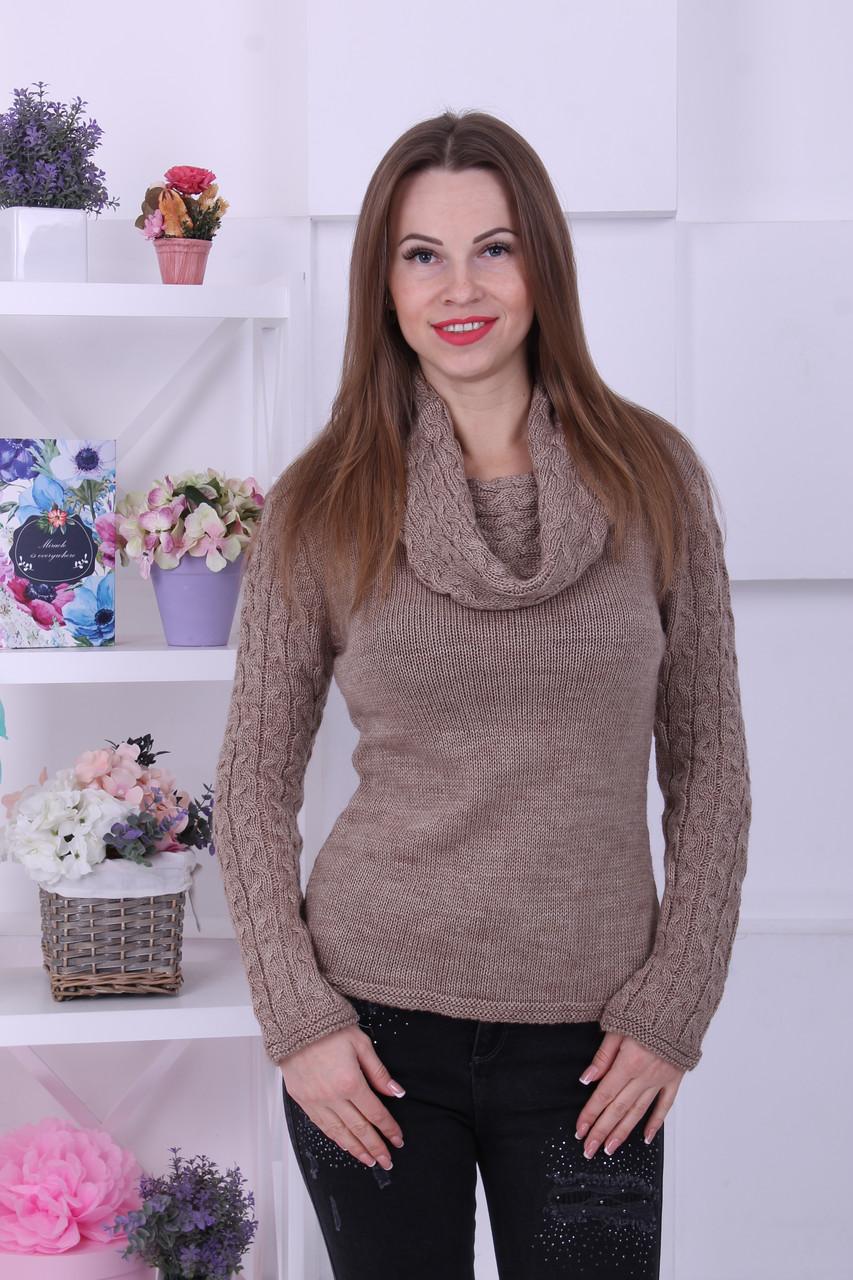 Модные женские свитера оптом
