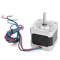 1.8 Степень 2 Фаза 4-х проводной шаговый двигатель для 3D-принтеров/CNC 42x42x40mm