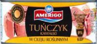 Тунец В Растительном Масле Amerigo Tunczyk Kawalki