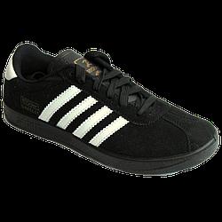 Мужские кроссовки Feader чёрные black 44