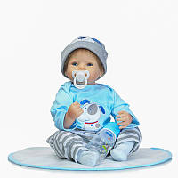 20inch Силиконовый Soft Reborn Baby Кукла Handmade Lifelike Baby Play House Toy Gift