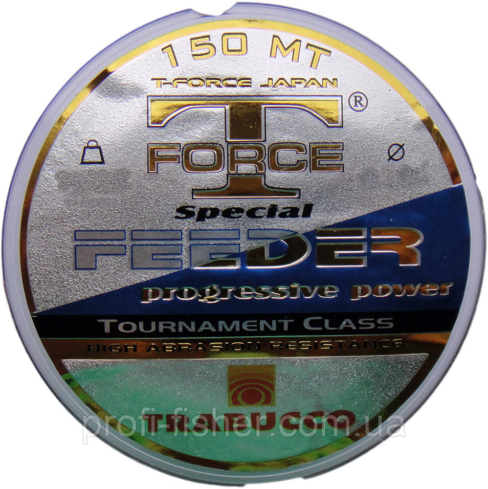 Леска T-Force Spec.Feeder mt150*0,25