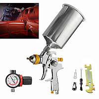 1000CC 1 / 4inch 1.3mm HVLP Гравитационная лента для распылителя Автоматическая краска Basecoat Regulator