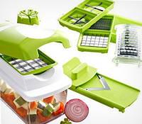 Овощерезка Nicer Dicer Plus ( Найсер дайсер плюс) Мультирезка, ломтерезка, ручной комбайн, кухонный помощник