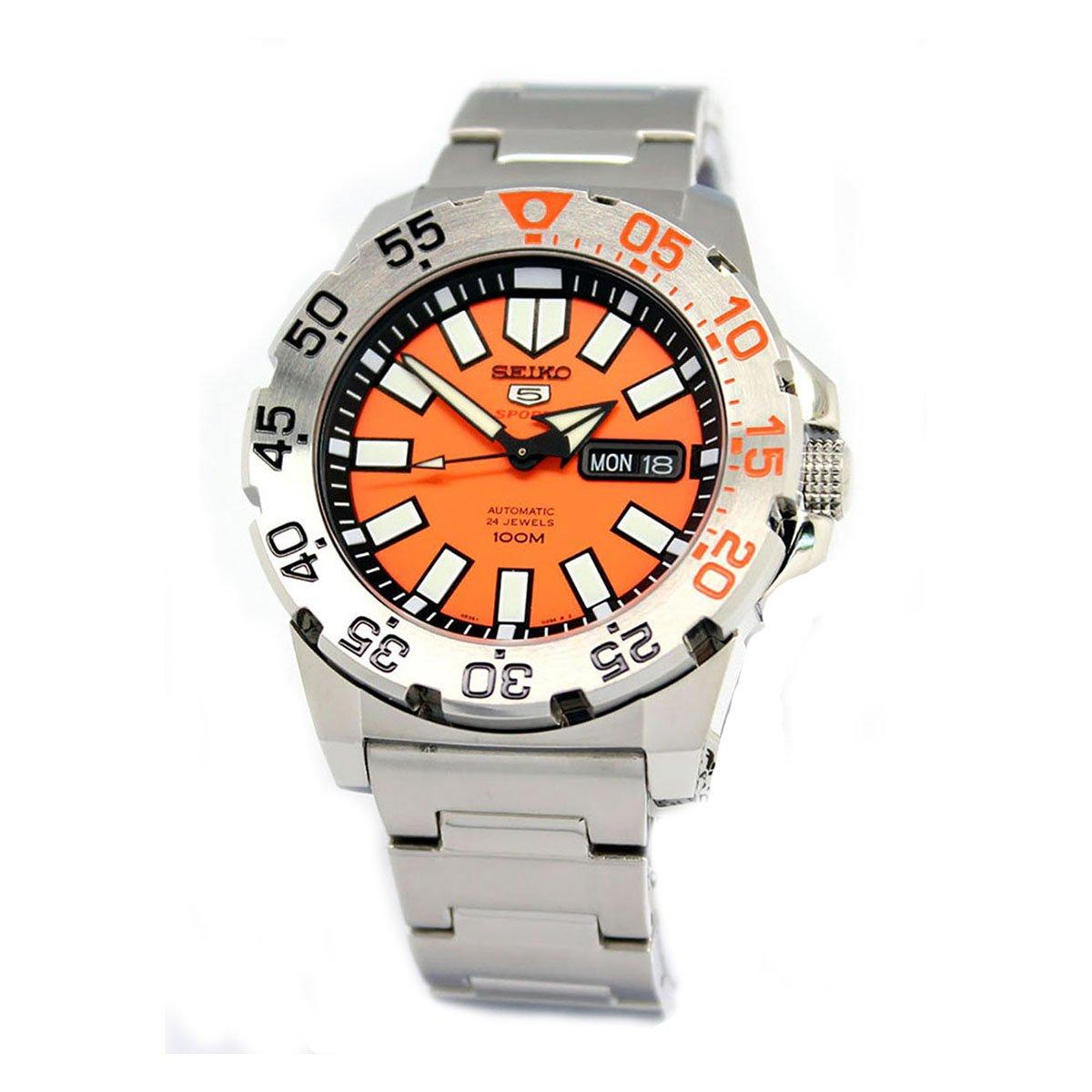 Часы Seiko 5 Sports Neo Monster SRP483K1 Automatic 4R36