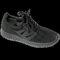 Мужские кроссовки Young Zone чёрные black 40-44