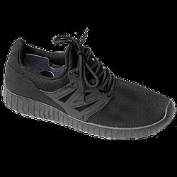 Мужские кроссовки Young Zone чёрные black (40-44)