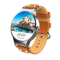 KINGWEAR KW98 MTK6580 1.39 дюймов AMOLED HD 8GB WiFi GPS Сердце Оценка Android 5.1 Smart Watch Phone
