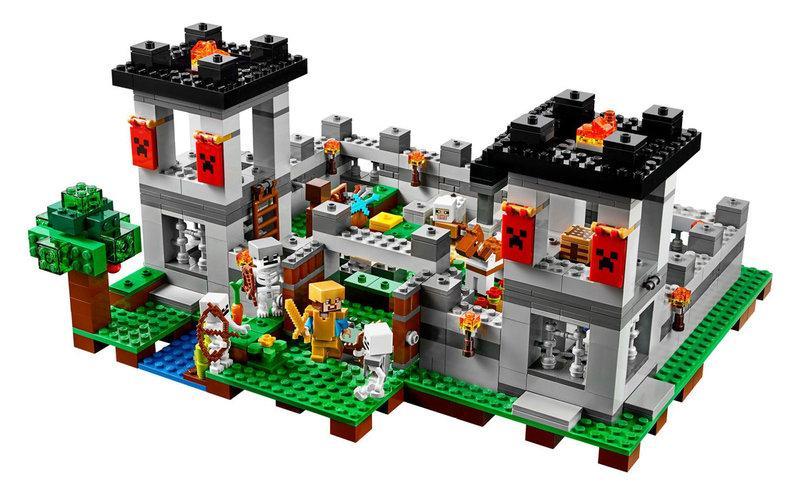 Конструктор LEPIN 18005 Minecraft Майнкрафт Крепость 523 дет
