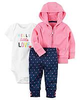Комплект для девочки Carters привет маленькая любовь Carters A40962