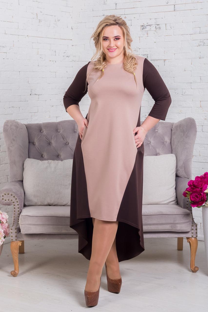 Женское платье Хвост-карман (42-60) 8164