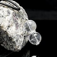 Гірський кришталь, срібло, кулон, 652КЛГ, фото 1