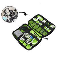 Honana HN-CB2 водонепроницаемая сумка для хранения кабеля Электронные аксессуары Организатор для переноски при путешествие