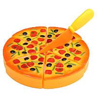 Дети Дети ABS пластик Пицца Ломтики Начинка Моделирование кухни Play еды игрушки