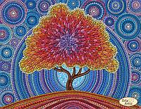 """Схема для вышивания """"Дерево счастья"""""""