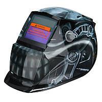 Солнечная Автоматическое затемнение шлем сварщика Сварочный головной щит шлифовального маска