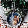 Елочные украшения Ангел Подвеска медальон на елку Подарок на День Святого Николая Рождество Новый год