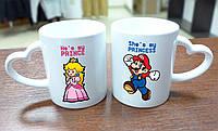 "Парные чашки ""Super Mario"""