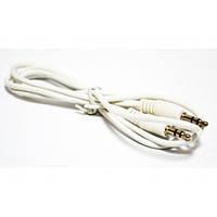AUX Аудио-кабель 3.5 jack/M/M 1м белый