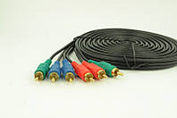 Аудио-кабель 3RCA 10м