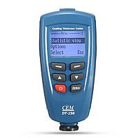 CEM DT-156 Профессиональные краски Толщина покрытия метр тестер Gauge цифровой набор