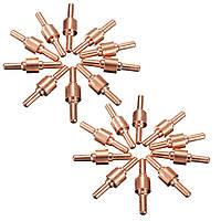 10Pcs плазменный резак расходуемых электродов для LG-40 PT-31 Резак CUT40 CUT50