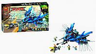 Конструктор BELA Ninja Самолет-молния Джея 10721 (Аналог LEGO Ninjago Movie 70614) 912дет (Ниндзя)