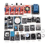 24 В 1 Датчик Плата модуля Набор Для Arduino Пластиковый пакет Сумка