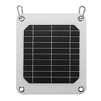 5W/5V Панель солнечных батарей зарядное устройство для перемещения дома Hinking Порт USB телефон зарядное устройство батареи