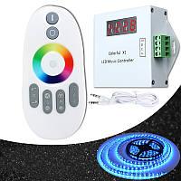 DC5-24V 20M WS2811 WS2812B светодиодный цифровой музыки РФ беспроводной пульт дистанционного управления для света прокладки