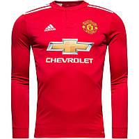 Футбольная форма Манчестер Юнайтед с длинным рукавом 17/18 сезона, домашняя
