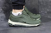 Кроссовки мужские Nike air max 97,зеленые, фото 2