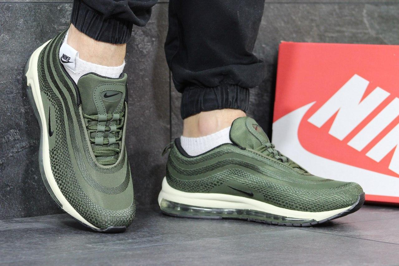 Кроссовки мужские Nike air max 97,зеленые