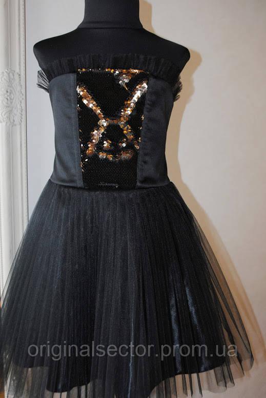9755f29c6d9 Детское нарядное черное платье - интернет-магазин