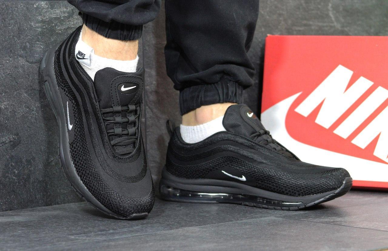 Кроссовки мужские Nike air max 97,черно-белые