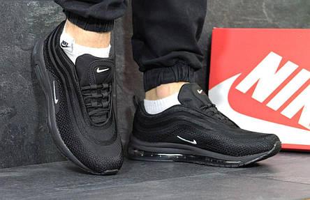 Кроссовки мужские Nike air max 97,черно-белые, фото 2