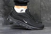 Кроссовки мужские Nike air max 97,черно-белые, фото 3