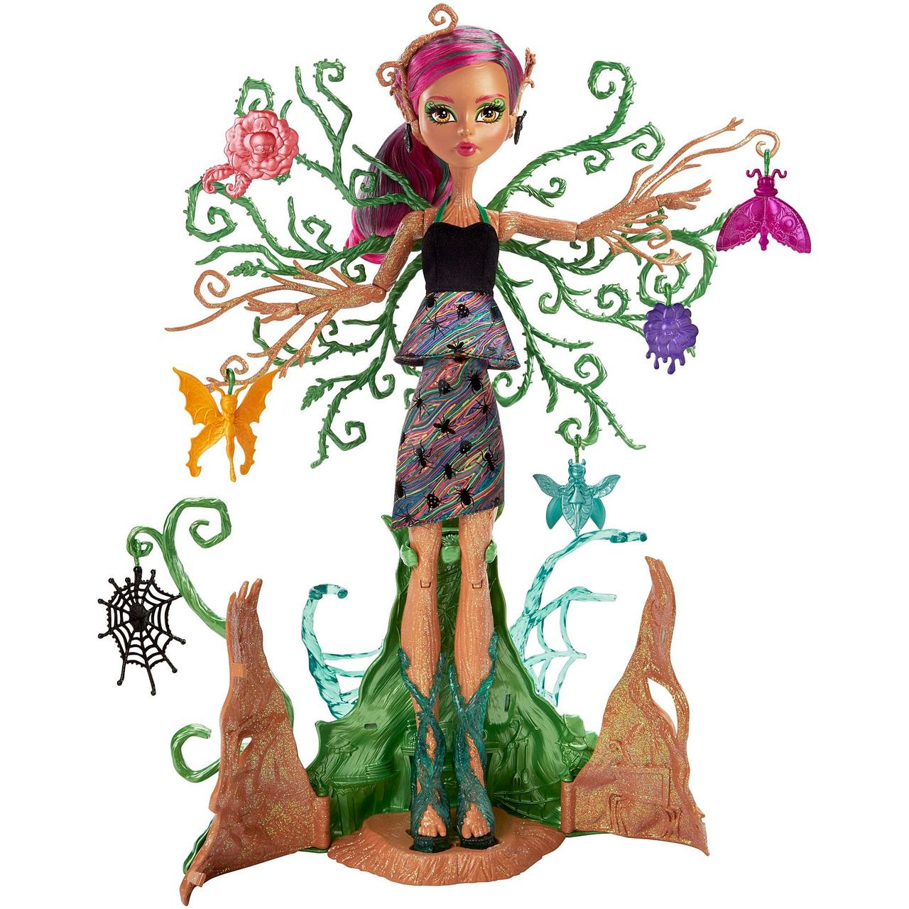 Кукла Триза Торнвиллоу серия Сад страхов, Monster High Garden Ghouls Treesa Thornwillow Doll из США