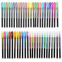 48 шт Цвет гель Pen Set Взрослой Раскраска Ink Pen Рисунок Живопись Craft Искусство для школы Главного