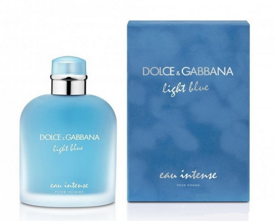 Dolce & Gabbana Light Blue Eau Intense Pour Homme туалетна вода 100 ml. (Дольче Габбана Лайт Блю Єау Інтенс)