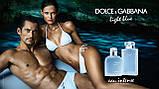 Dolce & Gabbana Light Blue Eau Intense Pour Homme туалетна вода 100 ml. (Дольче Габбана Лайт Блю Єау Інтенс), фото 4