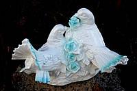 Голуби пара 21 см. статуэтка, декор, торжество